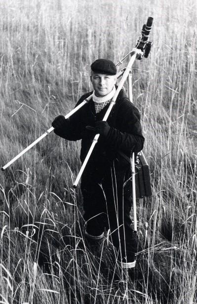 Martti Soikkeli, tässä nuorena sirrintutkijana