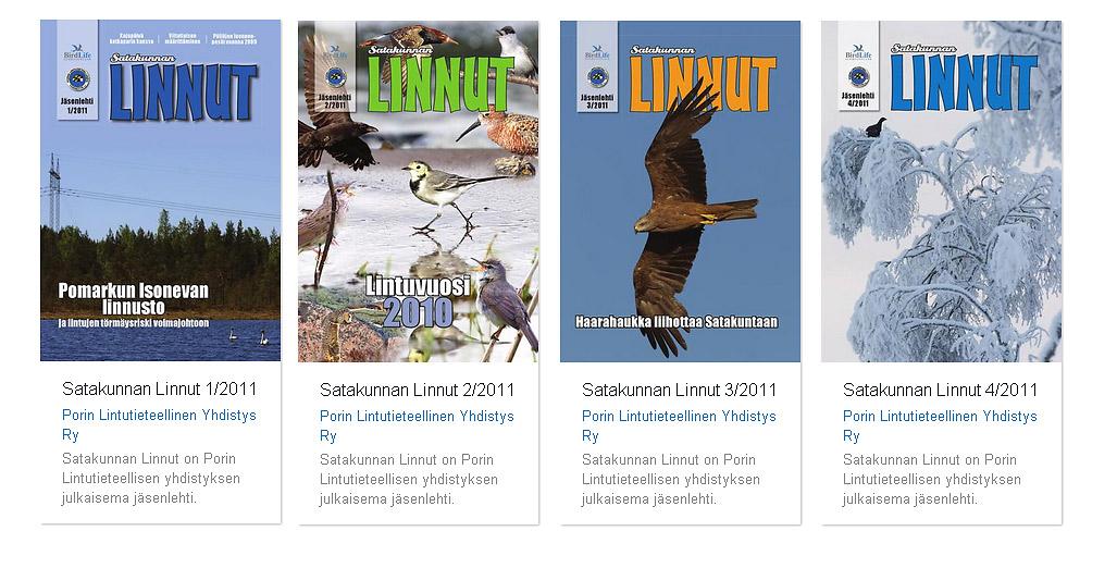 Satakunnan Linnut 2011 vuosikerta
